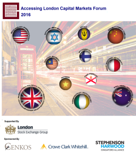Accessing London Capital Markets (Myanmar 2016) - event cover photo