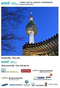 Korea Capital Market Conference - Invest & IPO (HCMC, 2017) - cover