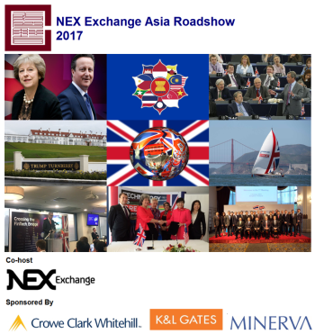 NEX Exchange Asia Roadshow (2017) - event cover